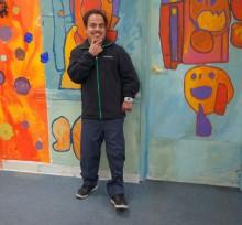 2016 Celebrated artist Carlos Arredondo